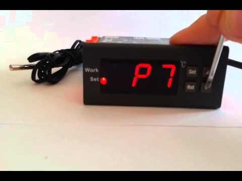 digital temperaturregler thermostat mit betriebsanleitung doovi. Black Bedroom Furniture Sets. Home Design Ideas