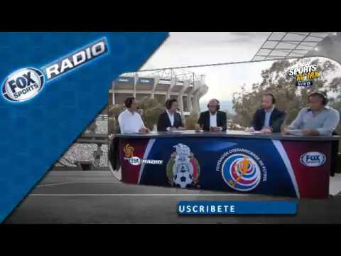 Fox Sports Radio desde Estadio Azteca Mexico vs Costa Rica 2