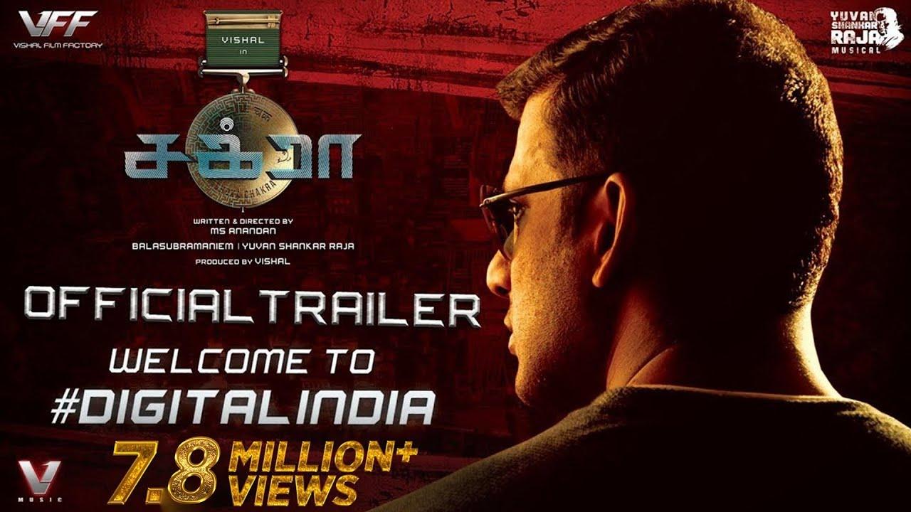 CHAKRA - Official Tamil Trailer   Vishal   M.S. Anandan   Yuvan Shankar Raja   VFF