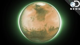 The Air On Mars Has A Mysterious Glow. Here's Why