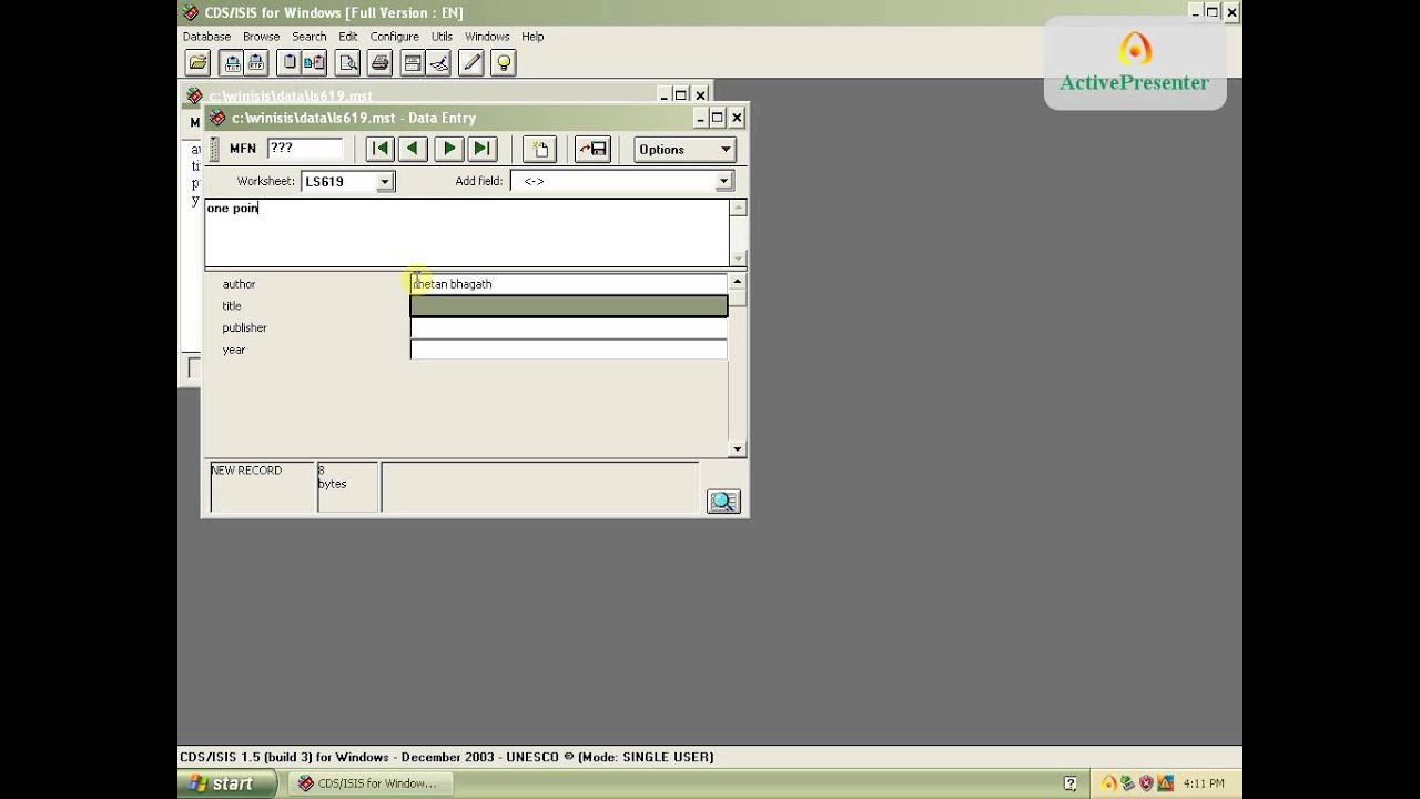 winisis pour windows 7