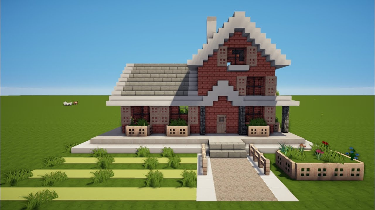 Minecraft familien haus bauen tutorial haus 87 youtube for Minecraft modernes haus jannis gerzen