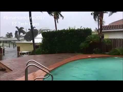 Irma aftermath in Pompano Beach, north of Fort Lauderdale