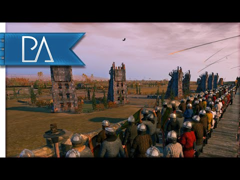 EPIC REINFORCEMENT SIEGE - Medieval Kingdoms Total War 1212AD Gameplay