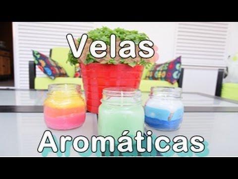 Velas decorativas y aromatizadas velas decorativas de for Como hacer velas aromaticas en casa