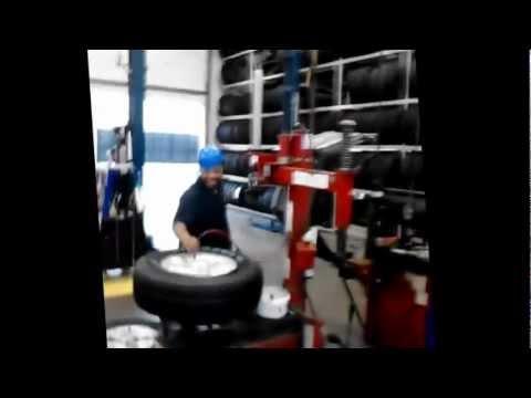 Walmart tire lube express explosion