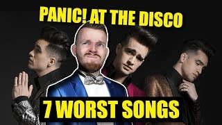 7 Worst Panic! at the Disco Songs