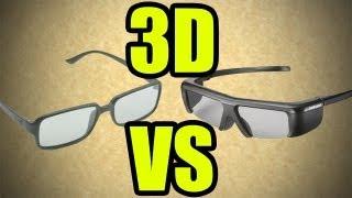 Diferencias entre el 3D Activo y 3D Pasivo