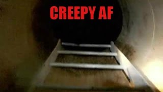 EXPLORING AN ABANDONED UNDERGROUND FALLOUT SHELTER