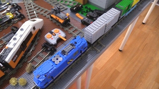 Last LEGO city train noise update for now - Feb. 10, 2017