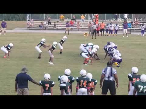 Stockbridge Middle School Football 10-05-19