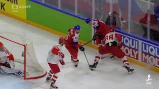 Česko - Rusko 4:3pp - MS 2018