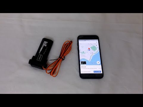 GPS tracking system and montage (All details)