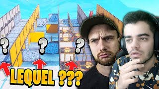 Fortnite - *NEW* QUEL PARCOURS CHOISIRAS-TU ?? Ft. DOC JAZY !