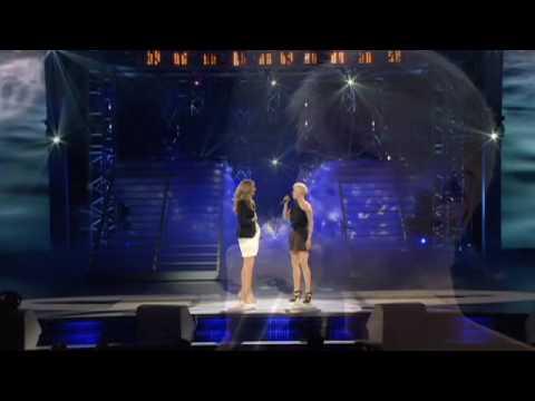 Brigitte Boisjoli chante en duo avec Céline Dion   Star Académie 2009