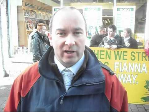 A message from SF candidate for Galway West, Trevor Ó Clochartaigh