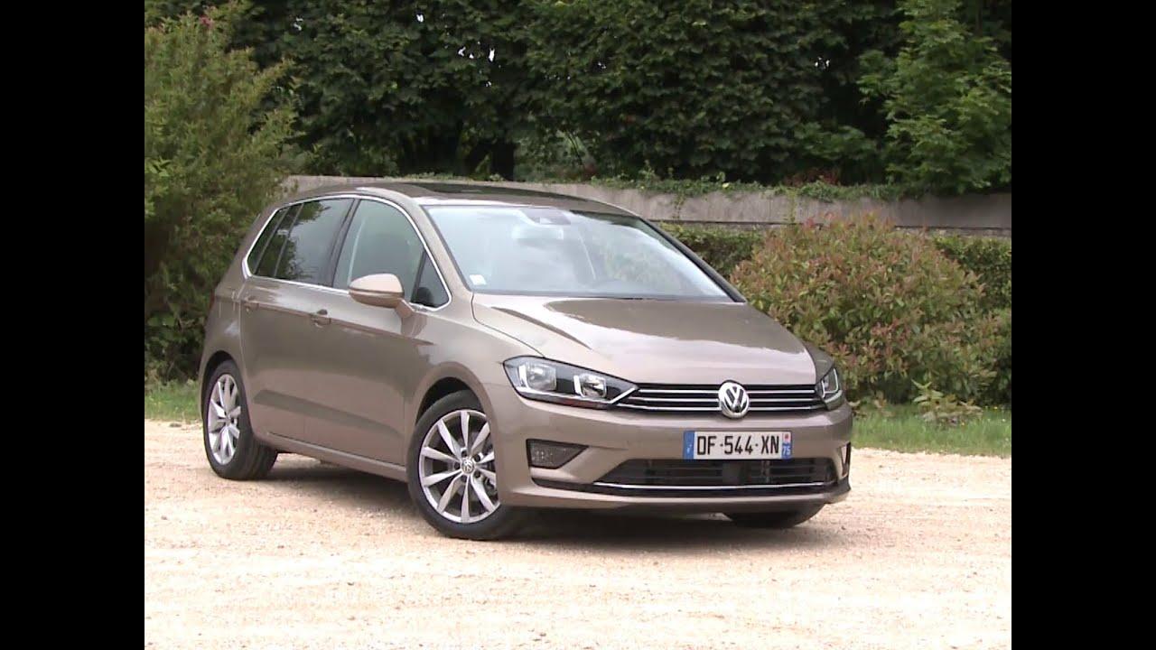 Essai Volkswagen Golf Sportsvan 1 4 Tsi 150 Dsg7 Carat