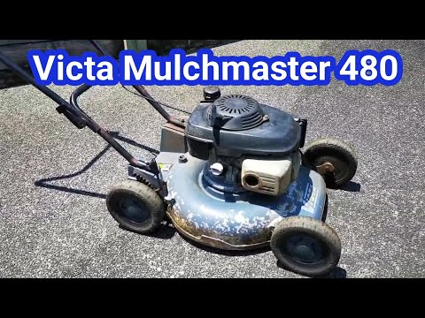 Victa Mulchmaster 480 Lawn Mower - Overview