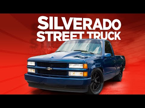 "FULL BUILD: Converting A Silverado Work Horse Into A Mean Street Truck - ""Senior Silverado"""