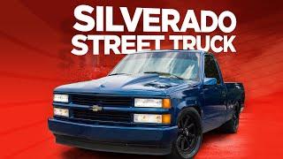 """Full Build: Converting A Silverado Work Horse Into A Mean Street Truck - """"senior Silverado"""""""