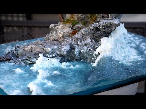 "🌊""ULTRA"" Realistic Ocean Diorama With a MASSIVE Wave!🌊 