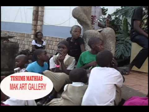 TUSIIME Mathias Art and Community Openning at Makerere University Art Gallery-kampala-Uganda