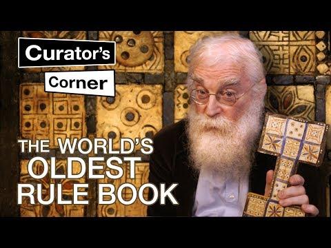Deciphering the world's oldest rule book   Irving Finkel   Curator's Corner pilot