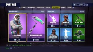 Free Abstract Skin in Fortnite / Free Vbucks !!!