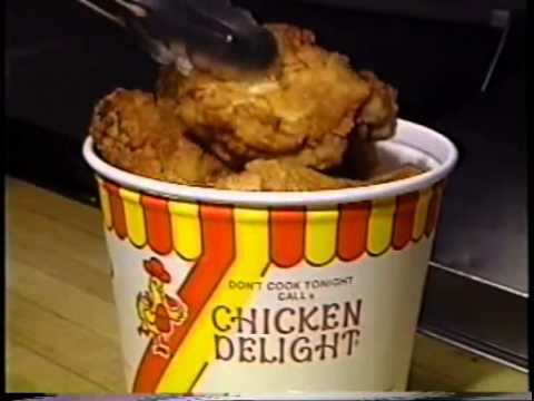 At Chicken Delight the choice is yours!  1999  TV Commercial  ChickenDelight.com