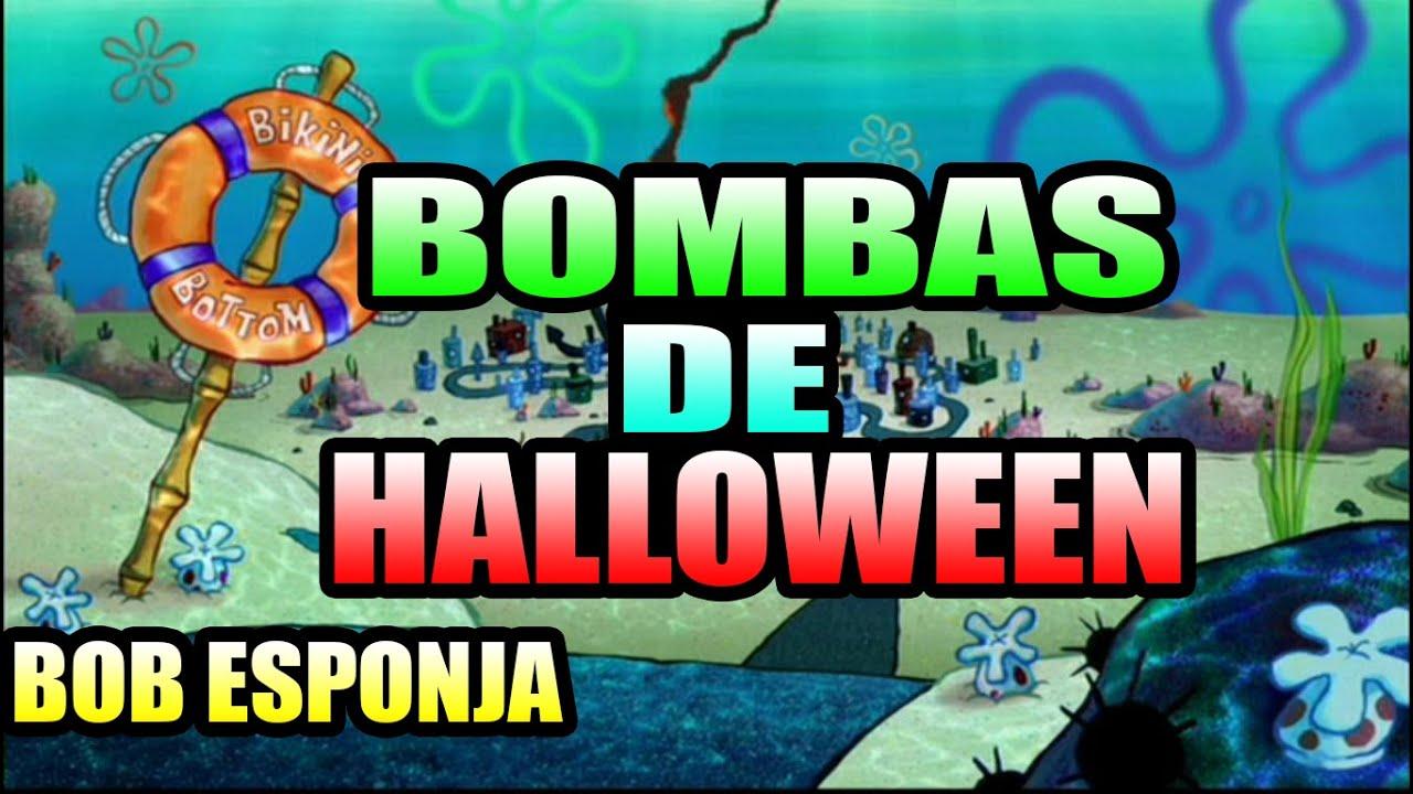 Bombas De Halloween Bob Esponja  YouTube