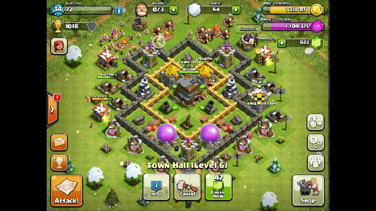 Th6 hybrid base layout youtube