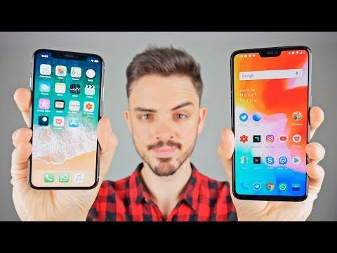 IPhone X Vs ONEPLUS 6, ¿MERECE La PENA 500 EUROS Más?
