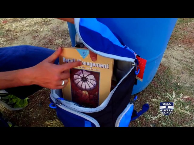 Will Textbooks in a Backpack Stop Bullets?