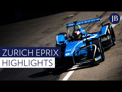 Highlights of the Julius Baer Zurich E-Prix 2018
