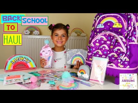 Πλαίσιο Σχολικά Back To School Haul / ARTEMI ARIADNI STAR / Plaisio Back To School Supplies Haul
