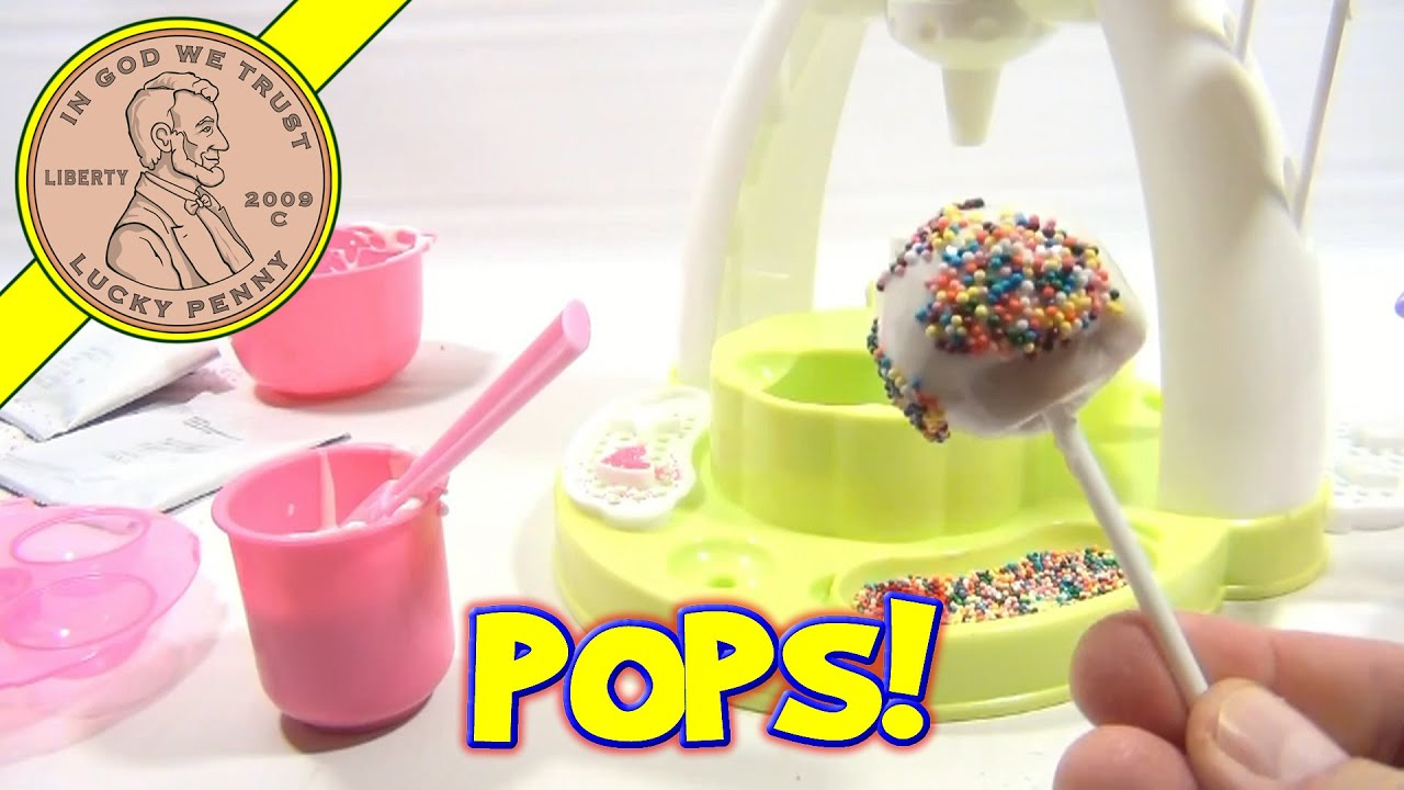 Cake Pop Maker Toy