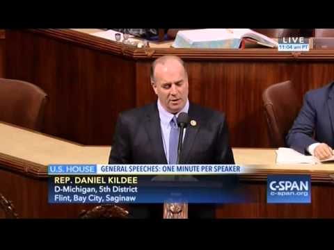 Congressman Kildee on Congressional Delegation in Flint