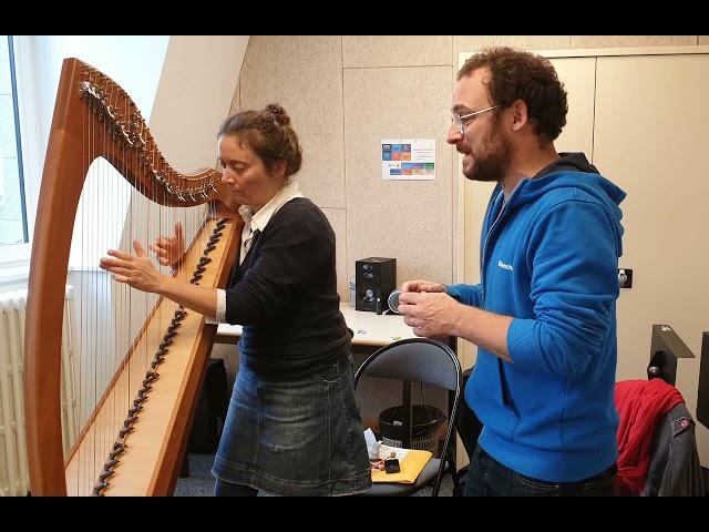 Eric Menneteau et Hoëla Barbedette pour le CD