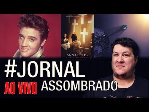 J.A.#119: Elvis Presley Não Morreu! Curiosidades do Eclipse Total Solar - Filme Annabelle 2