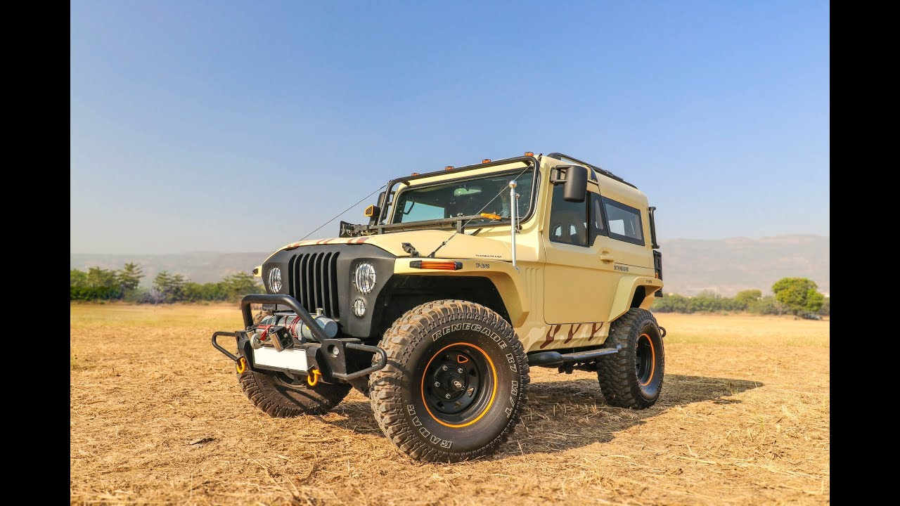 This modified Thar is completely legal on the roads   Autos