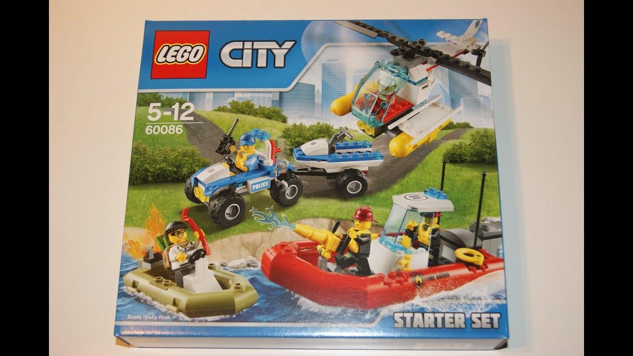 lego city 2015 60086 lego city starter set youtube On starterset kuchenutensilien