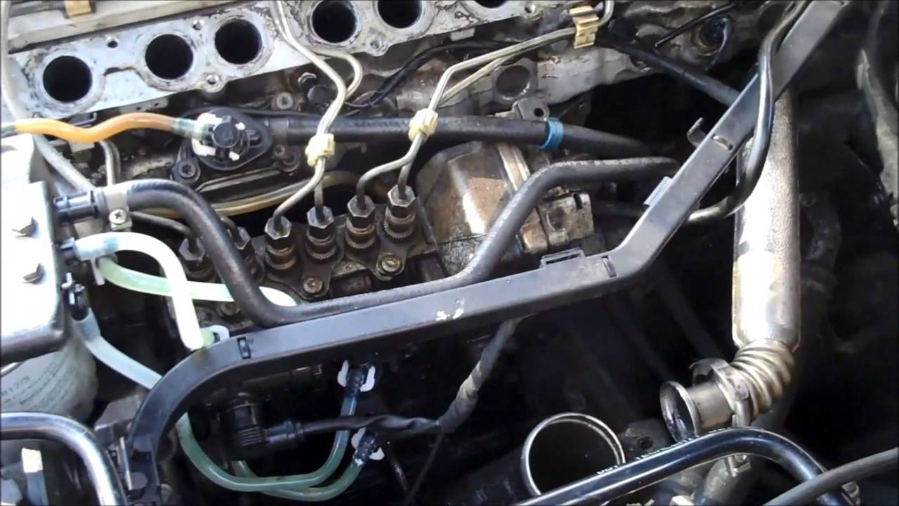 mercedes w210 diesel - diy glow plugs change