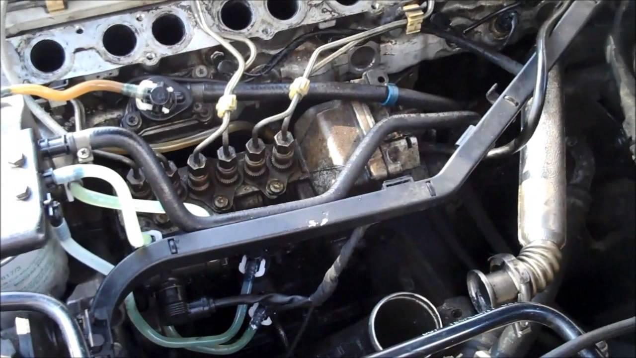MERCEDES W210 Diesel  DIY Glow Plugs Change  YouTube