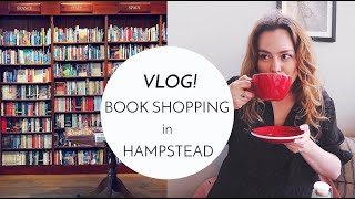 Vlog Come Book Shopping with Me