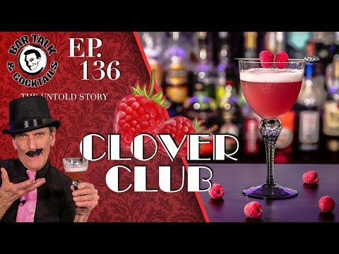 HOW TO MAKE THE CLOVER CLUB COCKTAIL