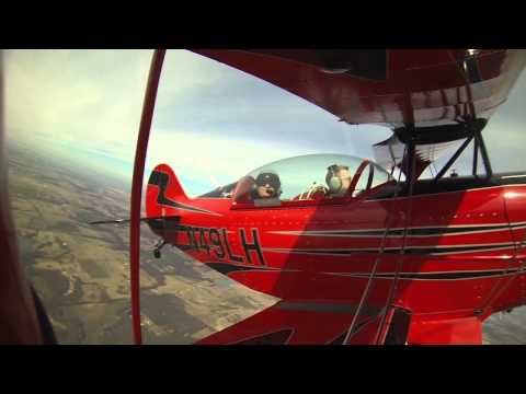 Thrill Ride in a Pitts S2B Biplane