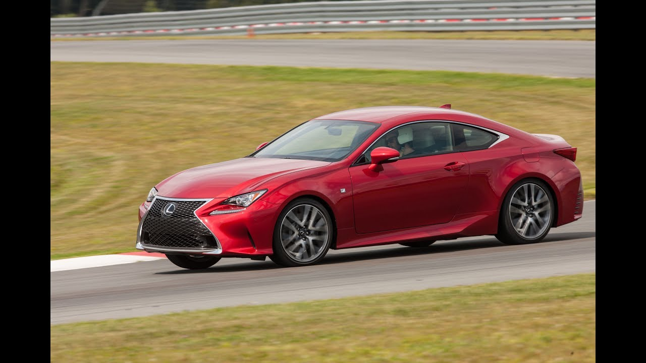 Test Drive 2017 Lexus Rc 300 Awd Coupe