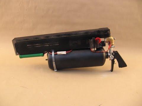 Compressed air BB machine gun 1