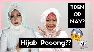 Nyobain Gaya Hijab Pocong!! - I Tried Weird Hijab Style (Bahasa)