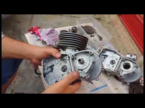 сборка двигателя д 6 рига 11